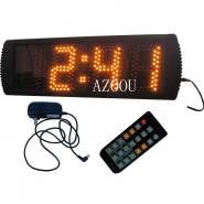 Semi-outdoor LED Digital Clock 5