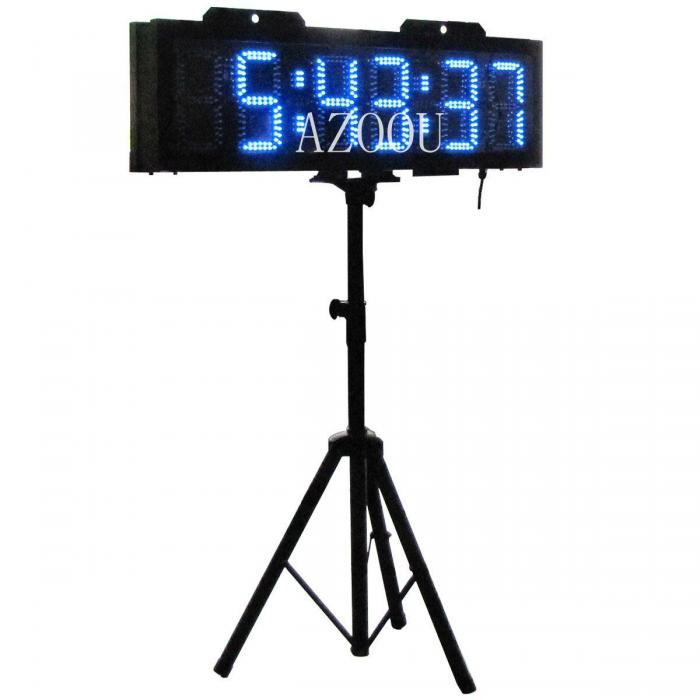 Outdoor LED Race Timing Clock,Double Sided clock,LED ...
