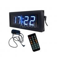 1.8 inch 4 Digits LED Digital Clock, Blue color countdown timer